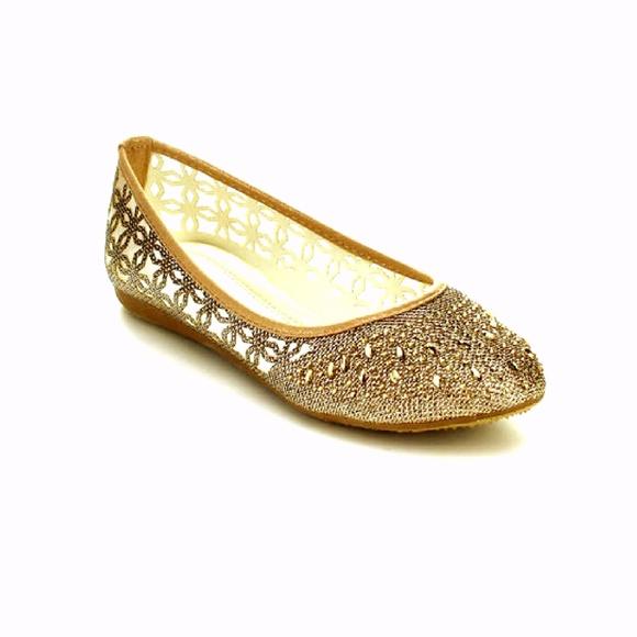 2722215f6c BOLARO Shoes | Sparkle Raindrop Rhinestone Dress Ballet Flats | Poshmark